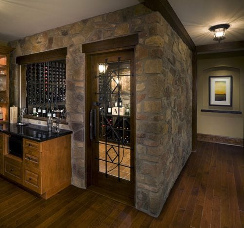 Basement - Wine Cellar
